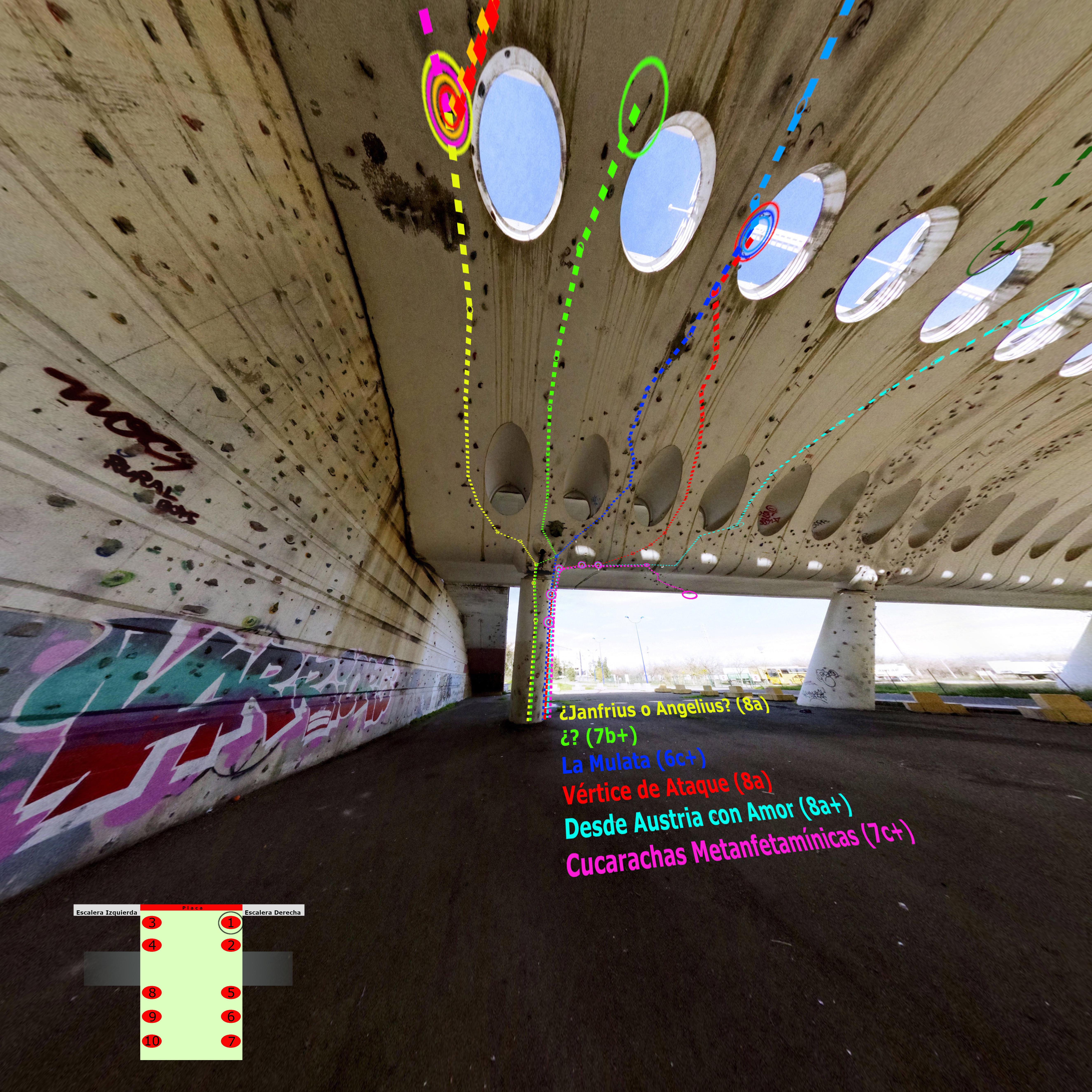 Croquis Puente Alamillo Columna 1